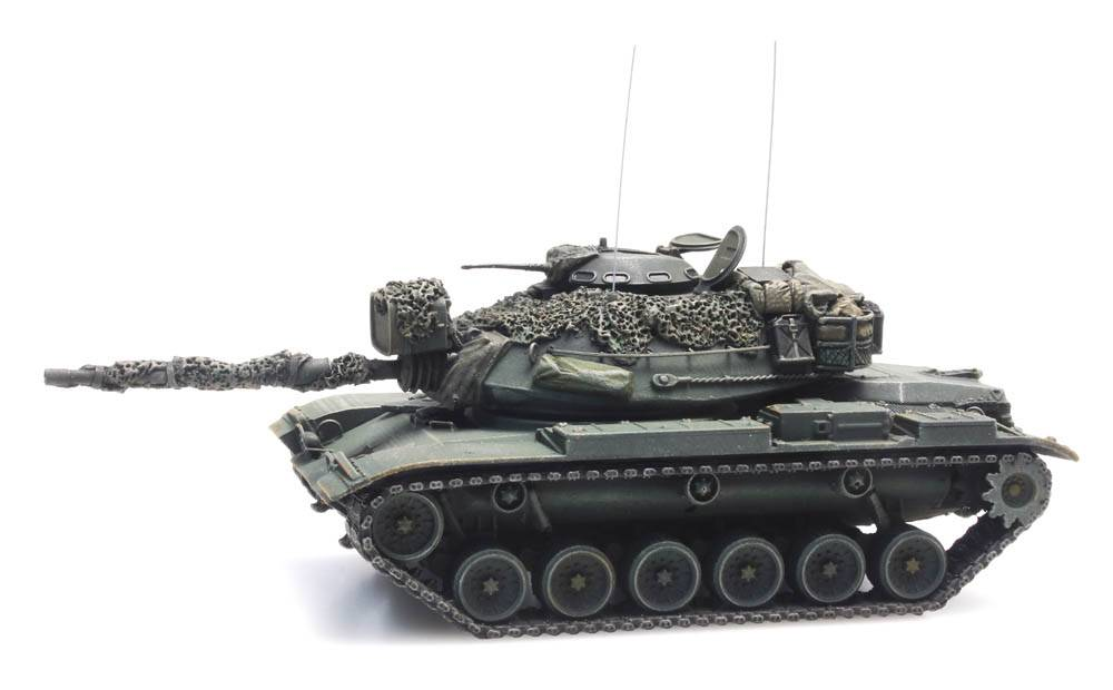 US M60A1 olive green combat ready