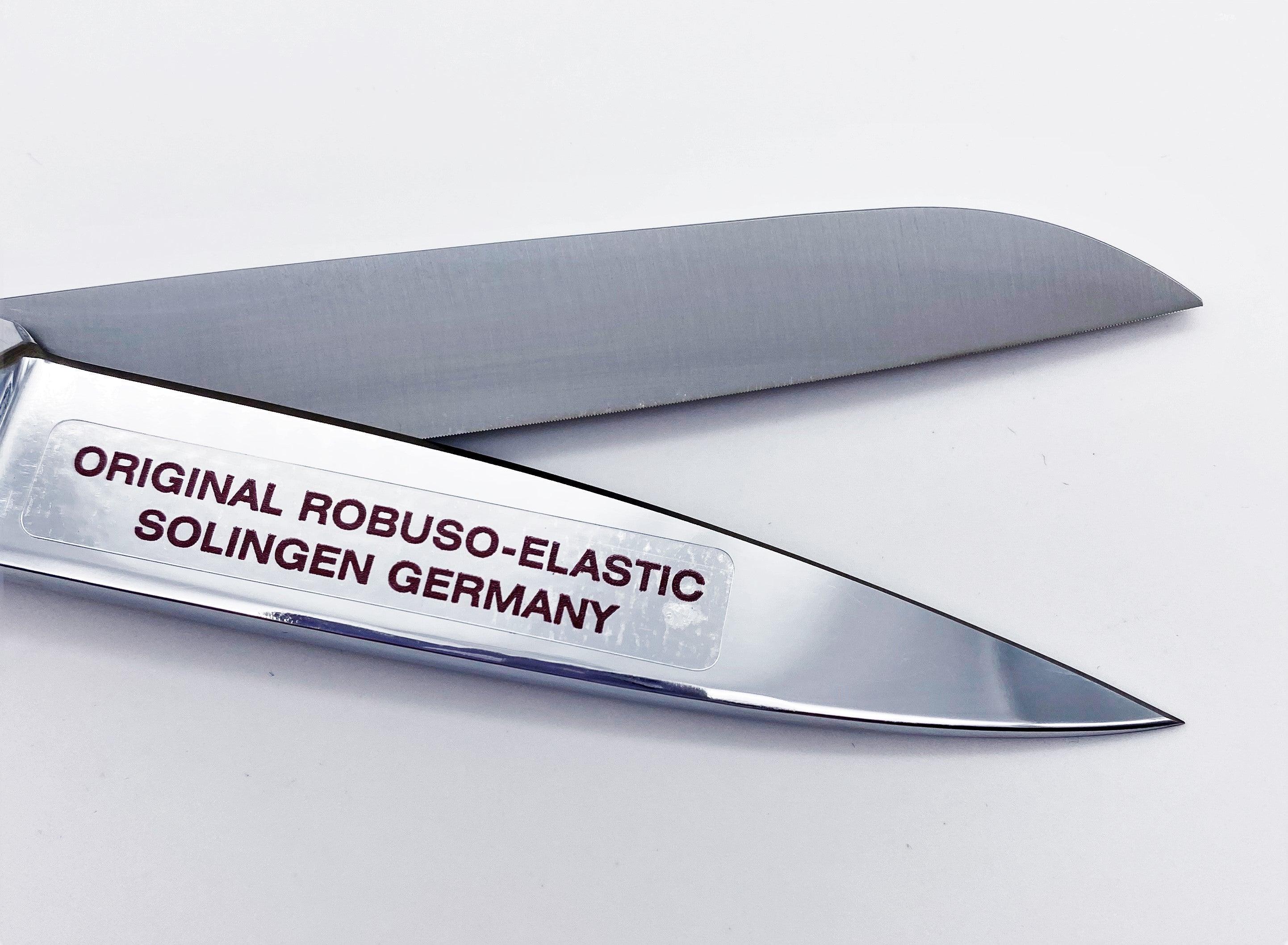 """ROBUSO-ELASTIC Linkshandschere, verchromt & verzahnt 1049/CR/8"""""""