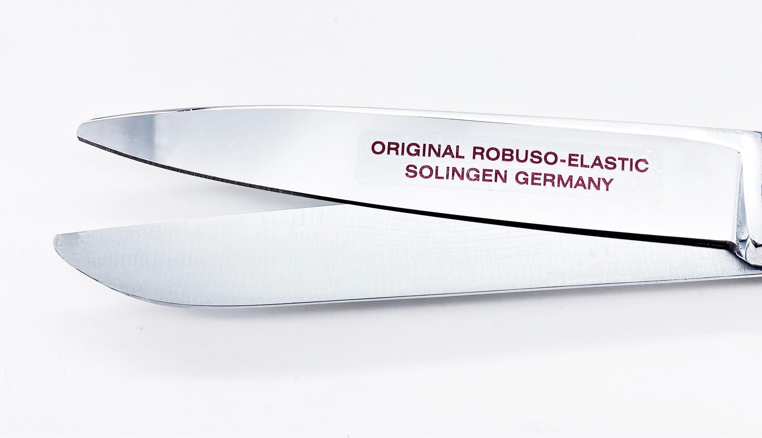"""ROBUSO ELASTIC Schere, links, verzahnt, rund 1049/CR-RD/10"""""""