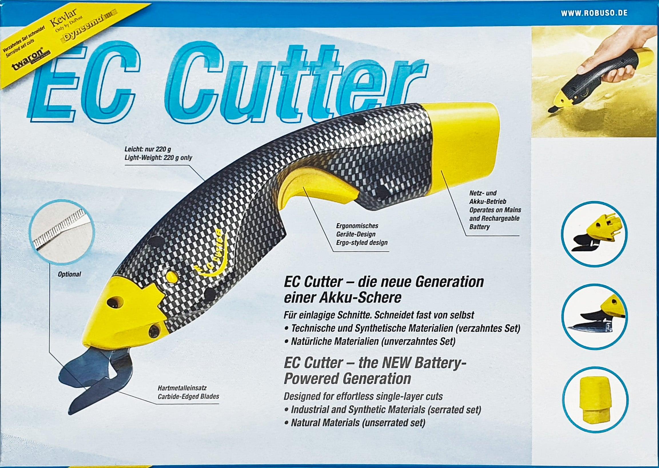 EC-Cutter Set, microverzahnt  für technische Textilien