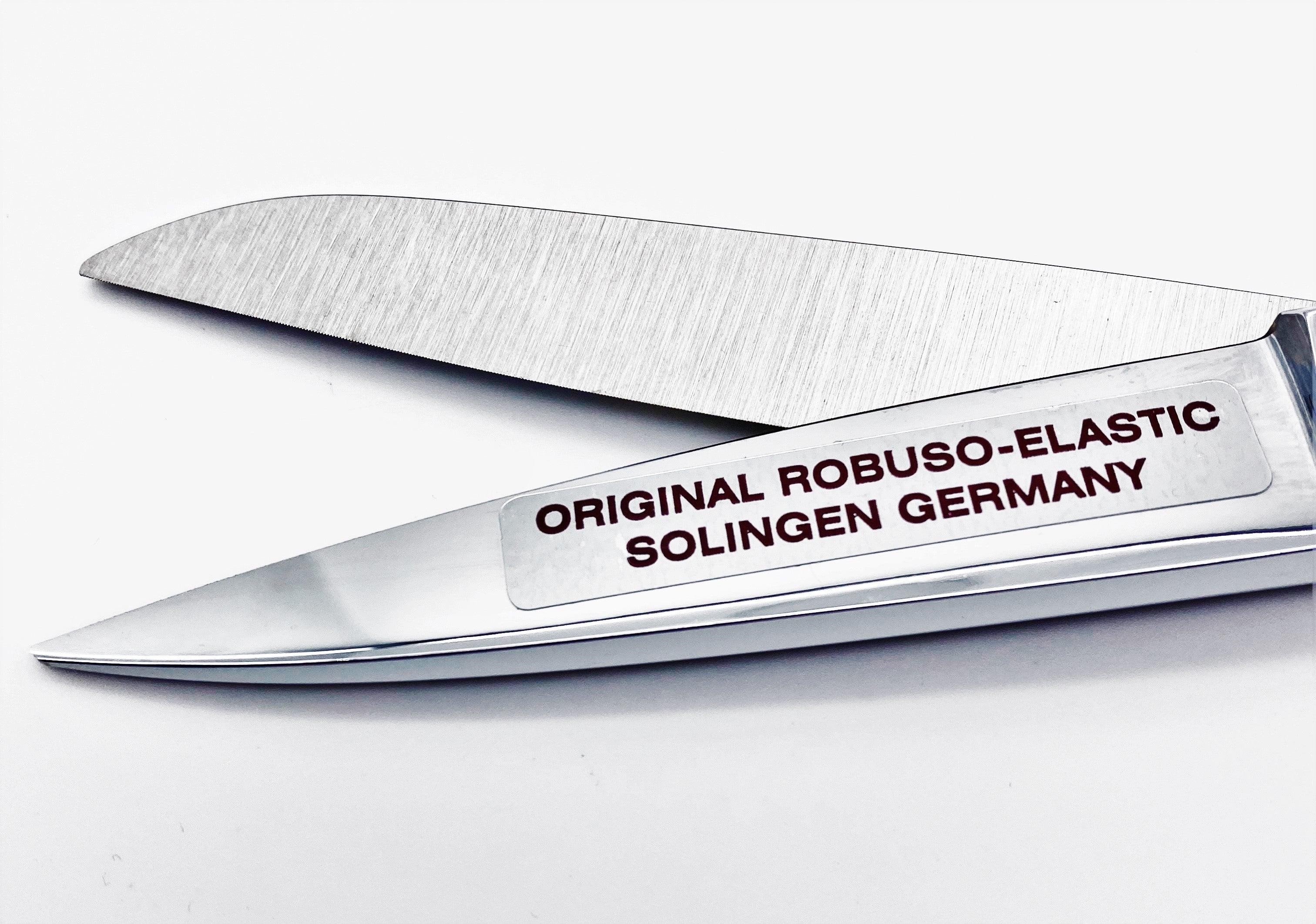 """ROBUSO-ELASTIC Schneiderschere, verzahnt + abgerundete Spitzen 1053/CR-RD/8"""""""
