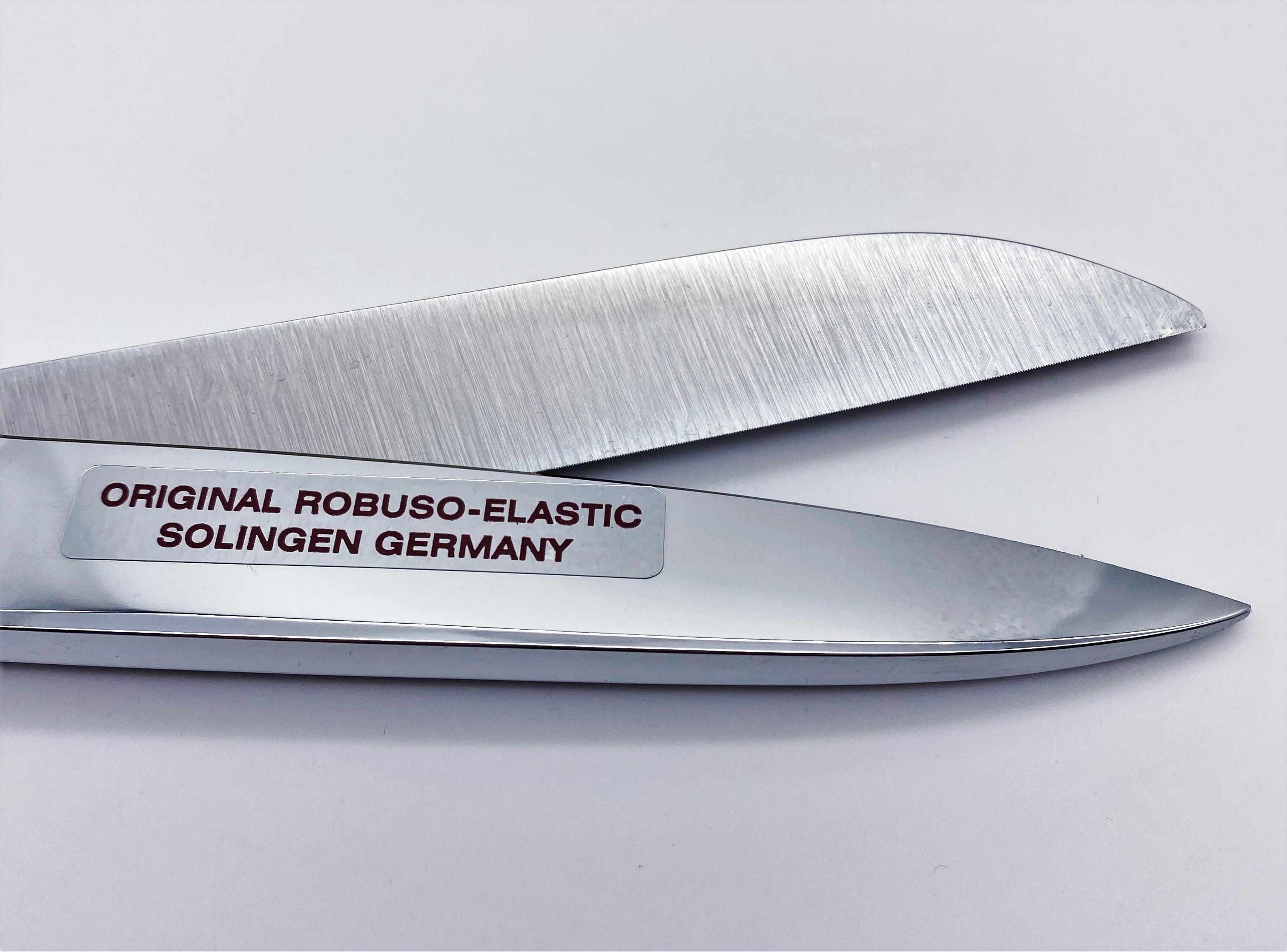 """ROBUSO-ELASTIC Linkshandschere, verchromt & verzahnt 1049/CR/10"""""""