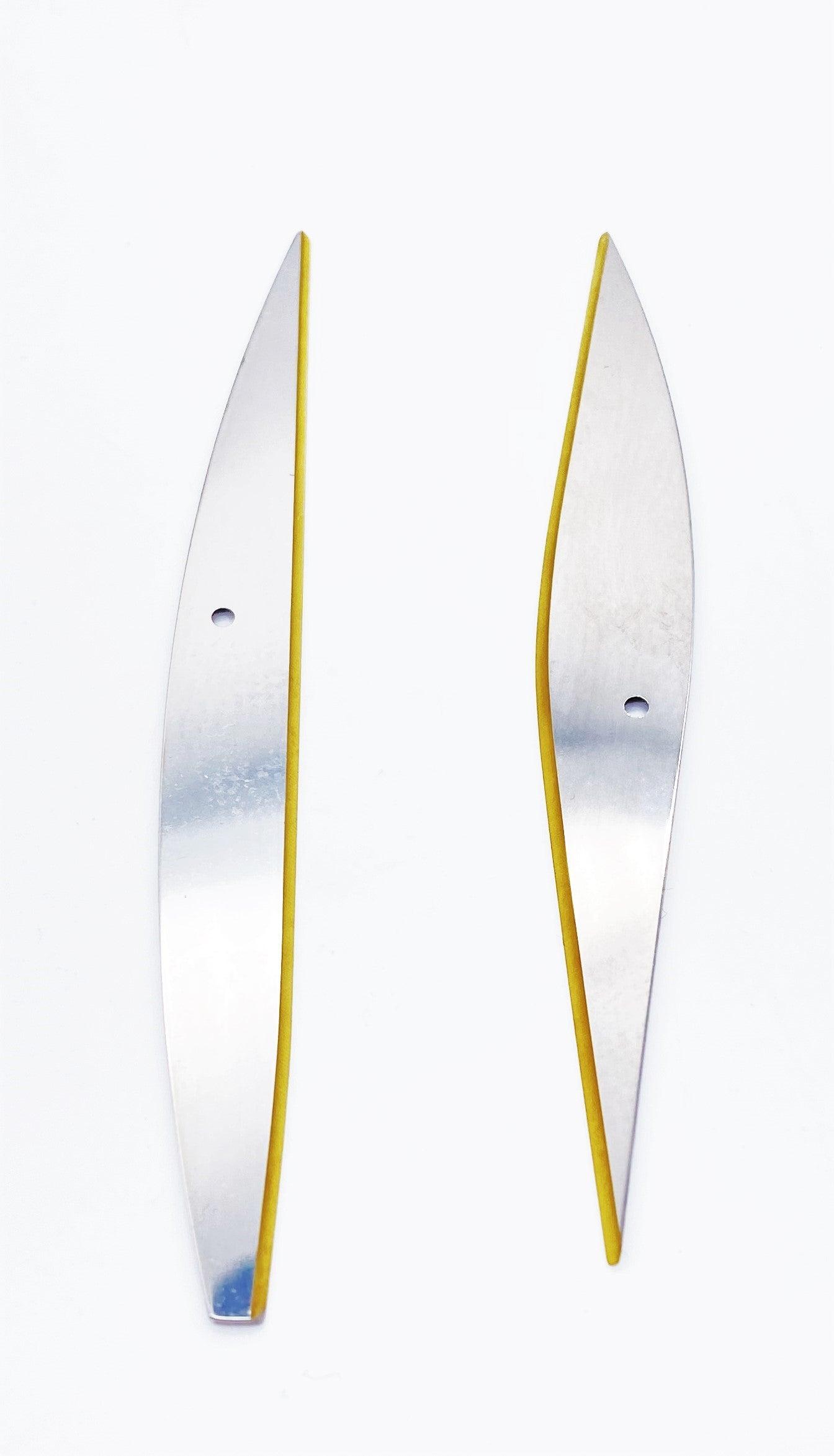 Paar Klingen f/SWISSORS,unverzahnt