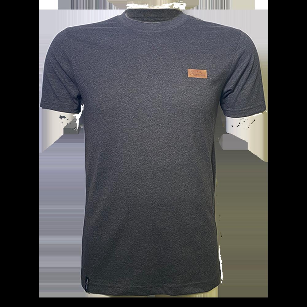 T-Shirt Lederpatch