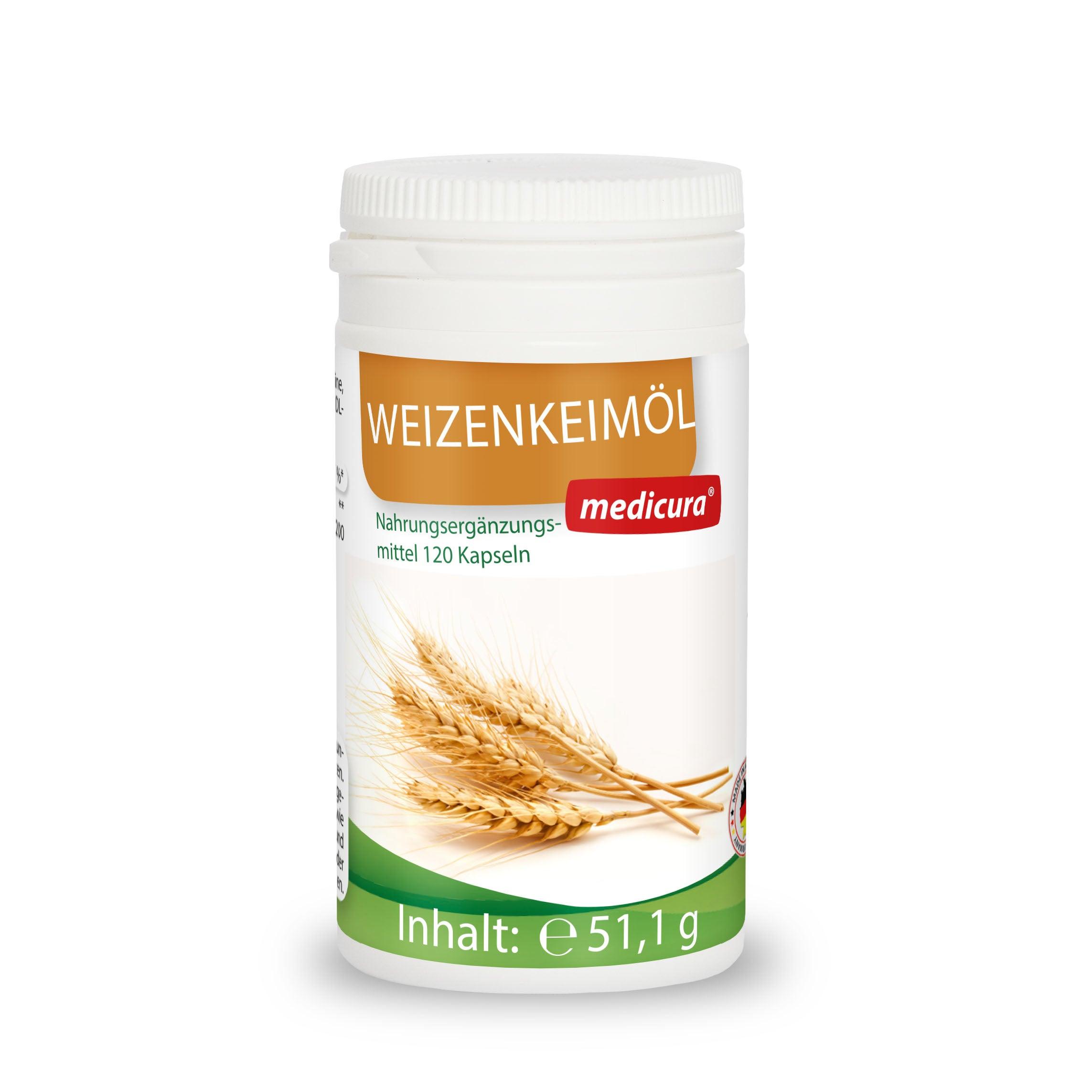 Weizenkeimöl - 120 Kapseln