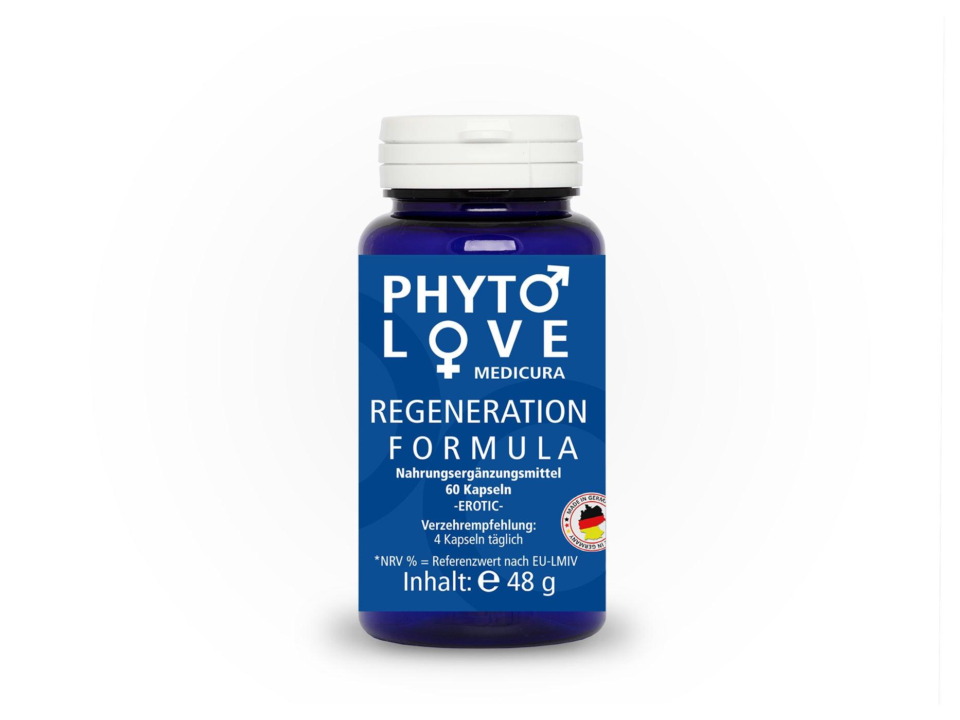 Phyto Love - Regeneration Formula - 60 Kapseln
