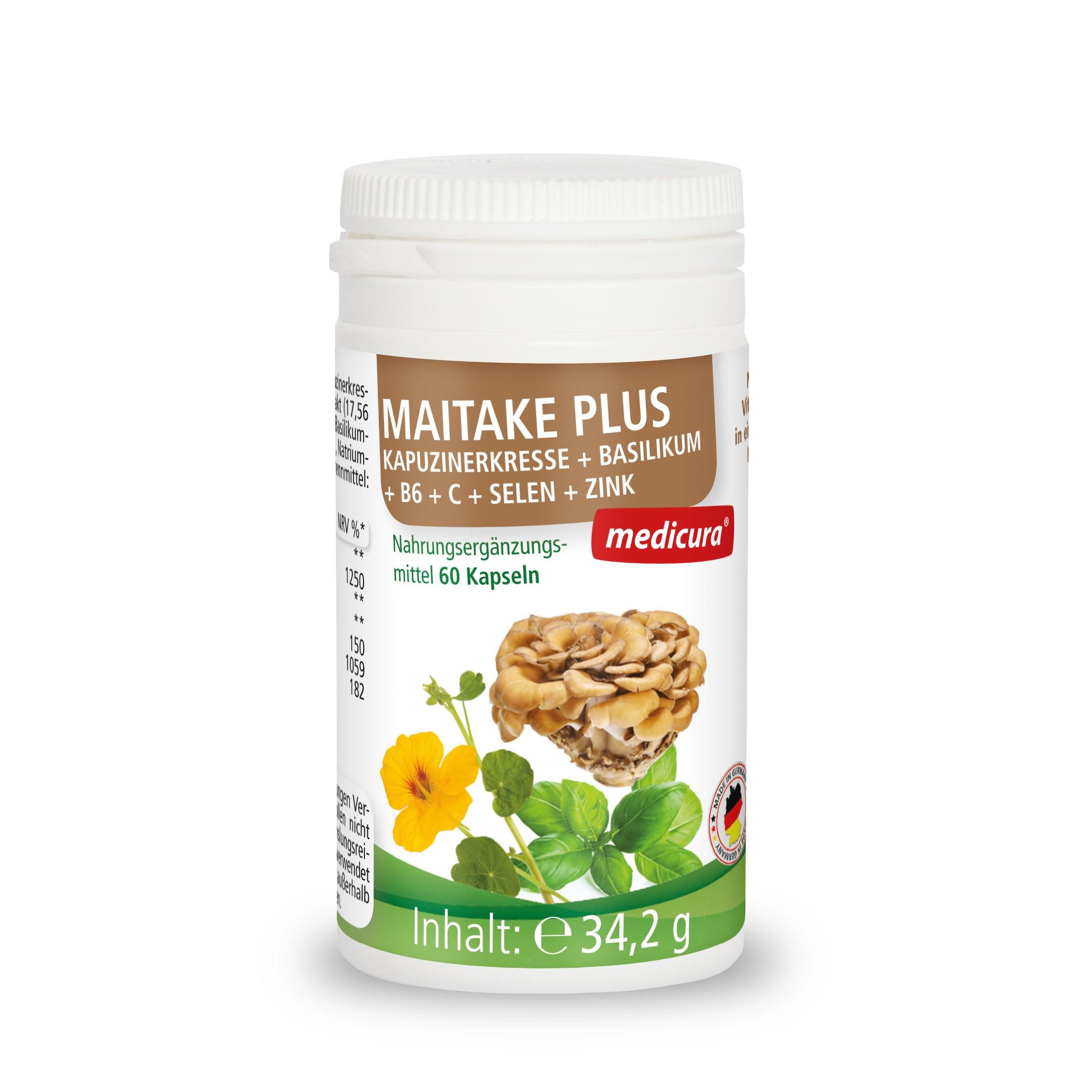 Maitake Plus - 60 Kapseln