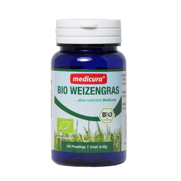 Bio Weizengras - 165 Presslinge