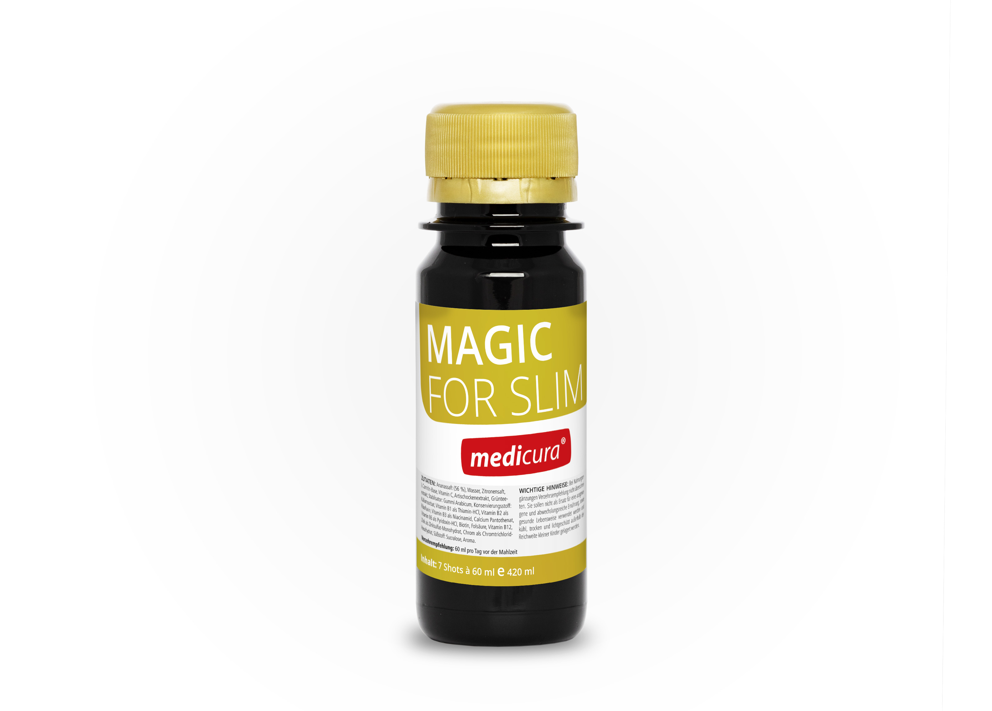 Magic for Slim - 7 Shots à 60 ml