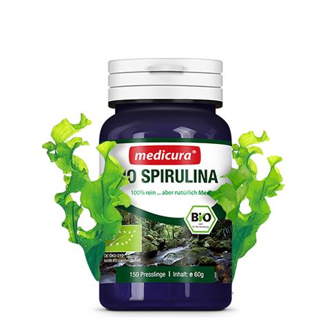 Bio Spirulina 100 % rein - 150 Presslinge