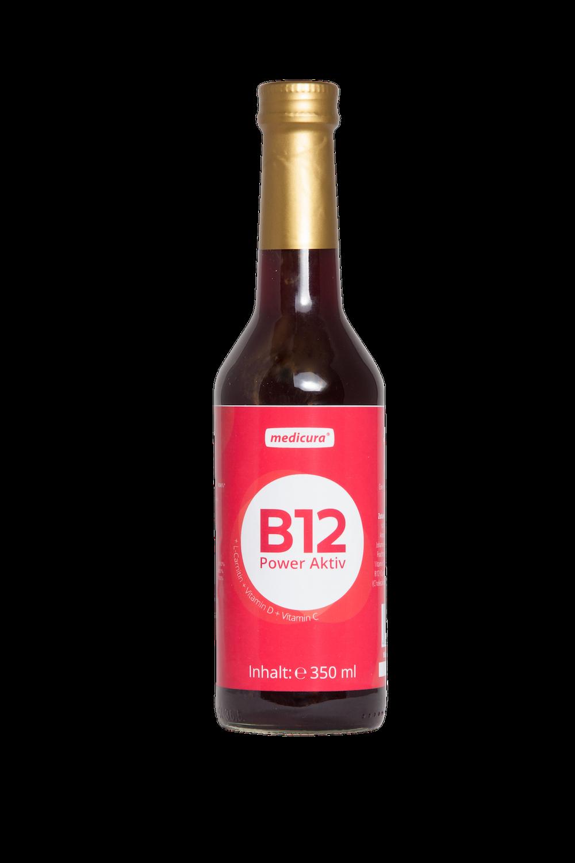 B12 Red Power Aktiv - 330 ml Glasflasche