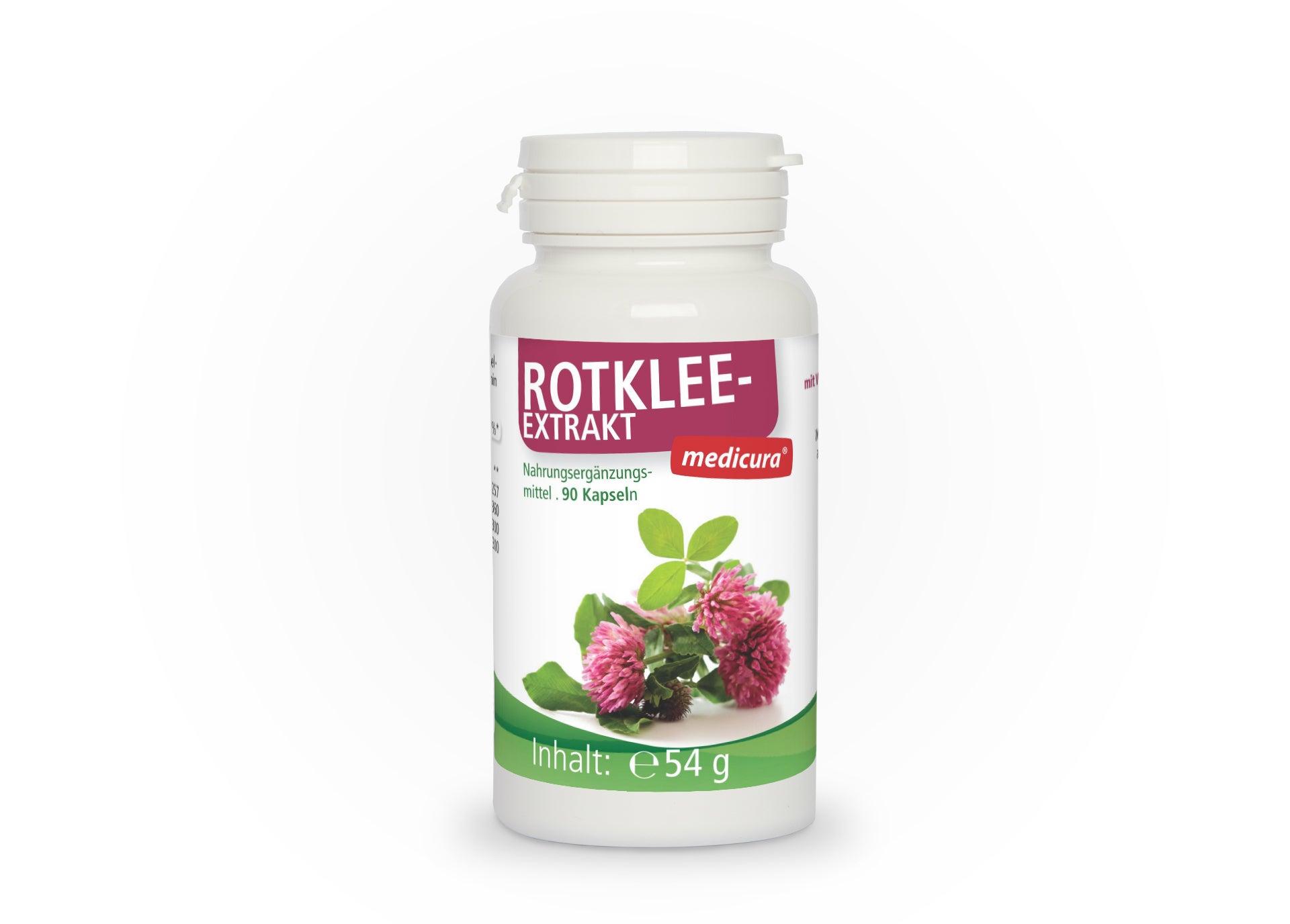 Rotklee-Extrakt - 90 Kapseln