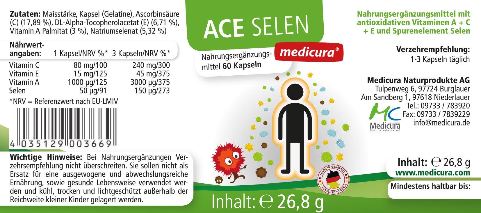 ACE + Selen