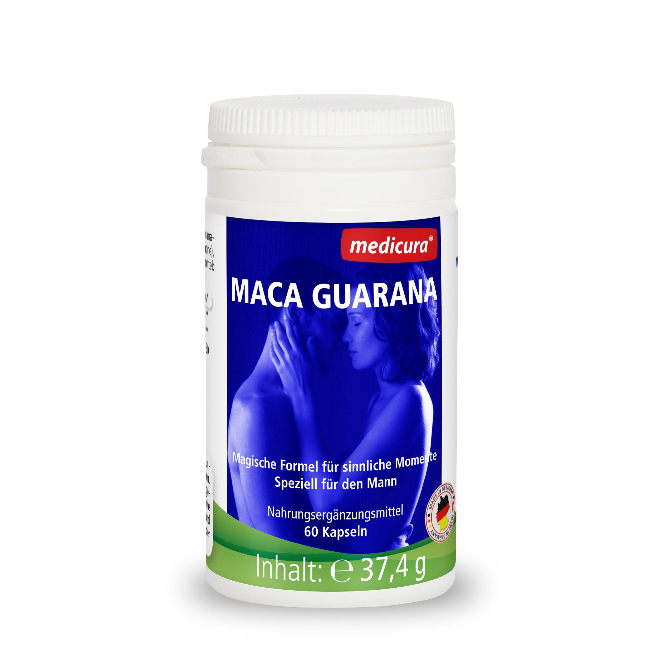 Maca Guarana - 60 Kapseln