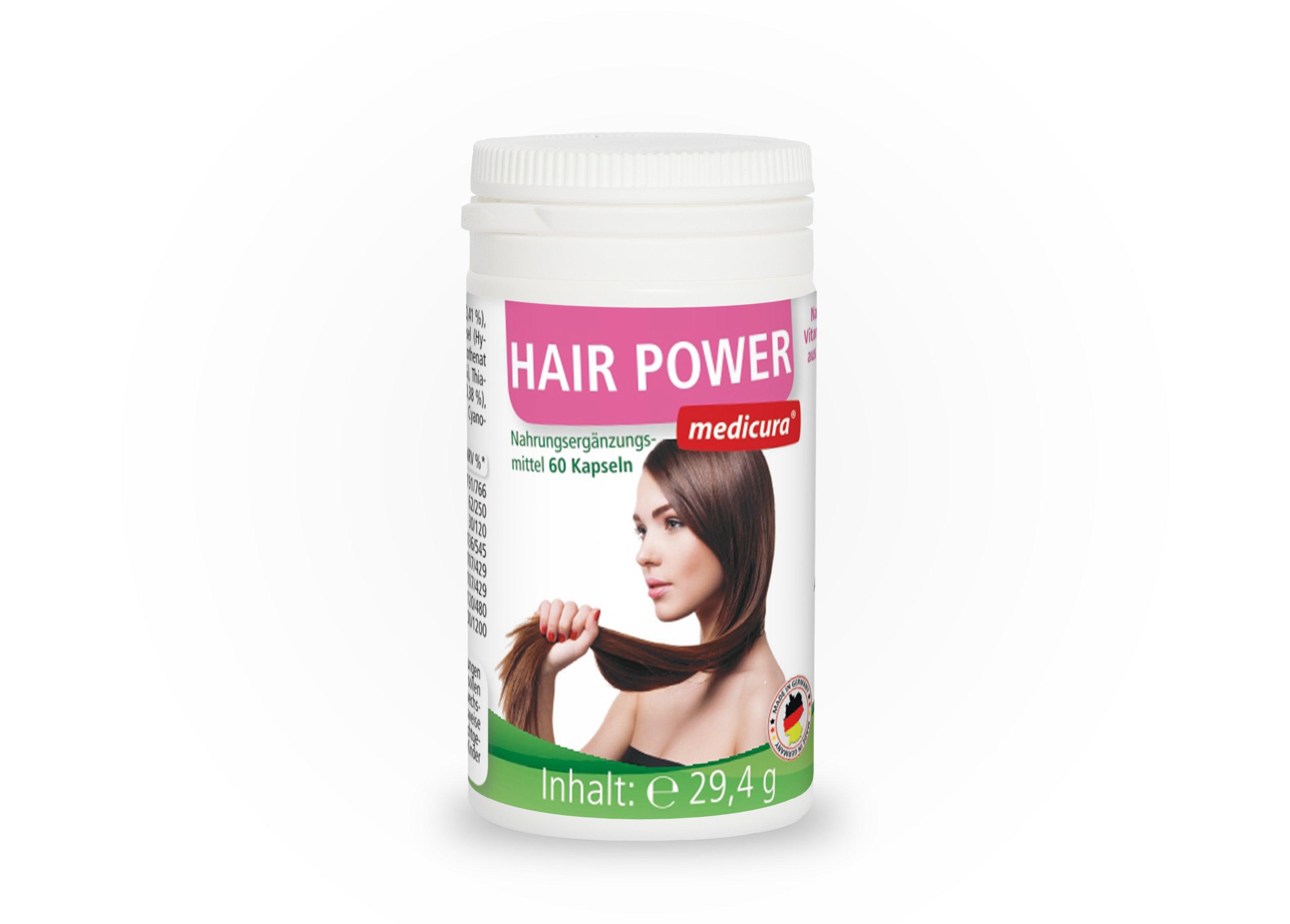 Hair Power - 60 Kapseln
