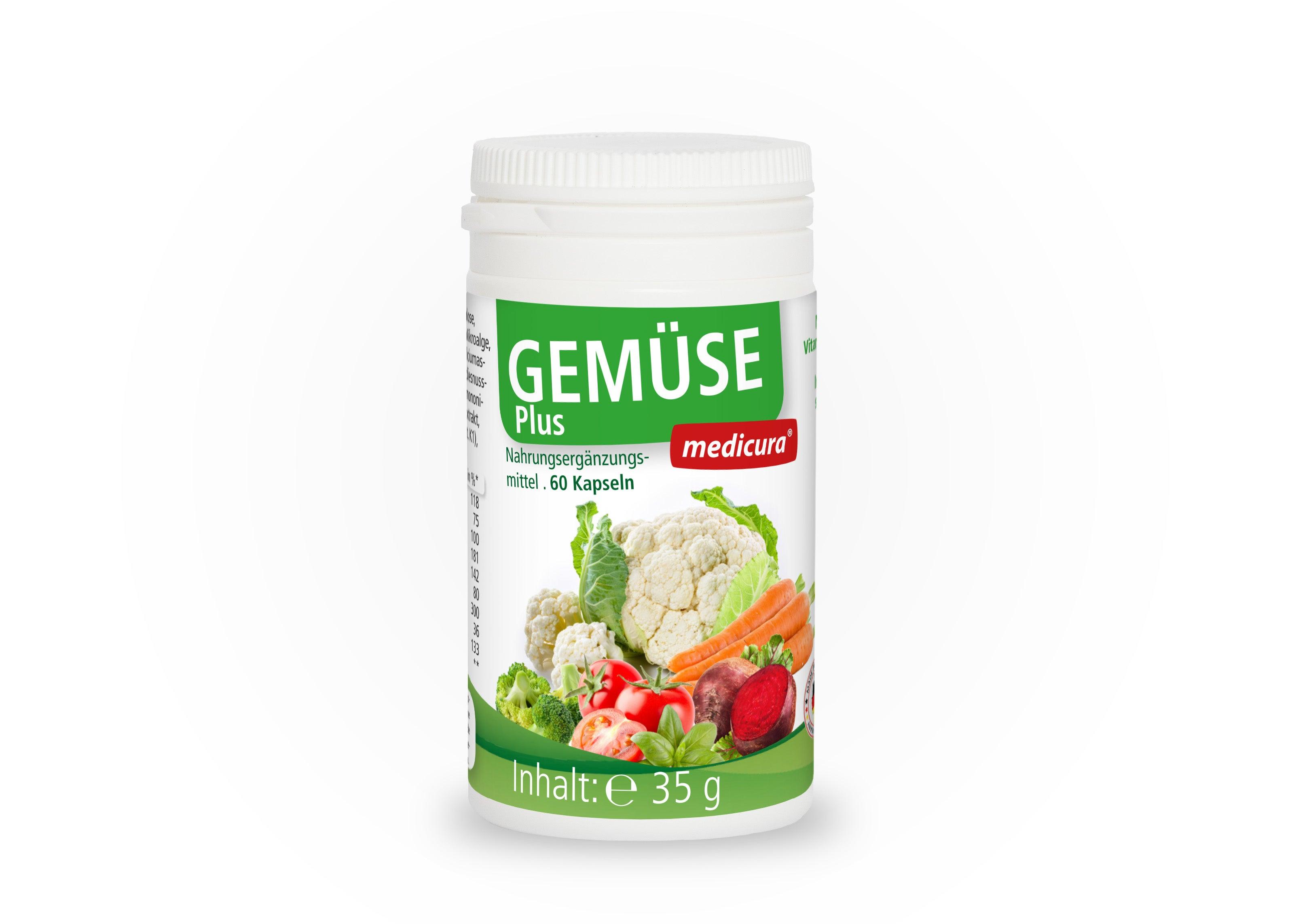 Gemüse Plus - 60 Kapseln