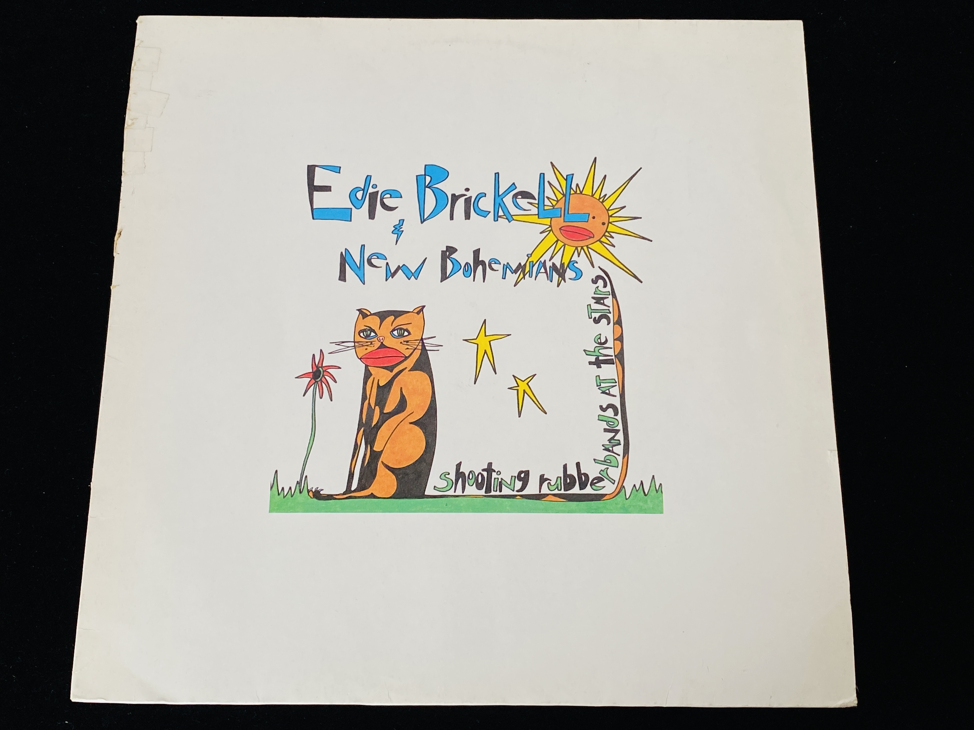 Edie Brickell & New Bohemians - Shooting Rubberbands at the Stars (EU, 1988)