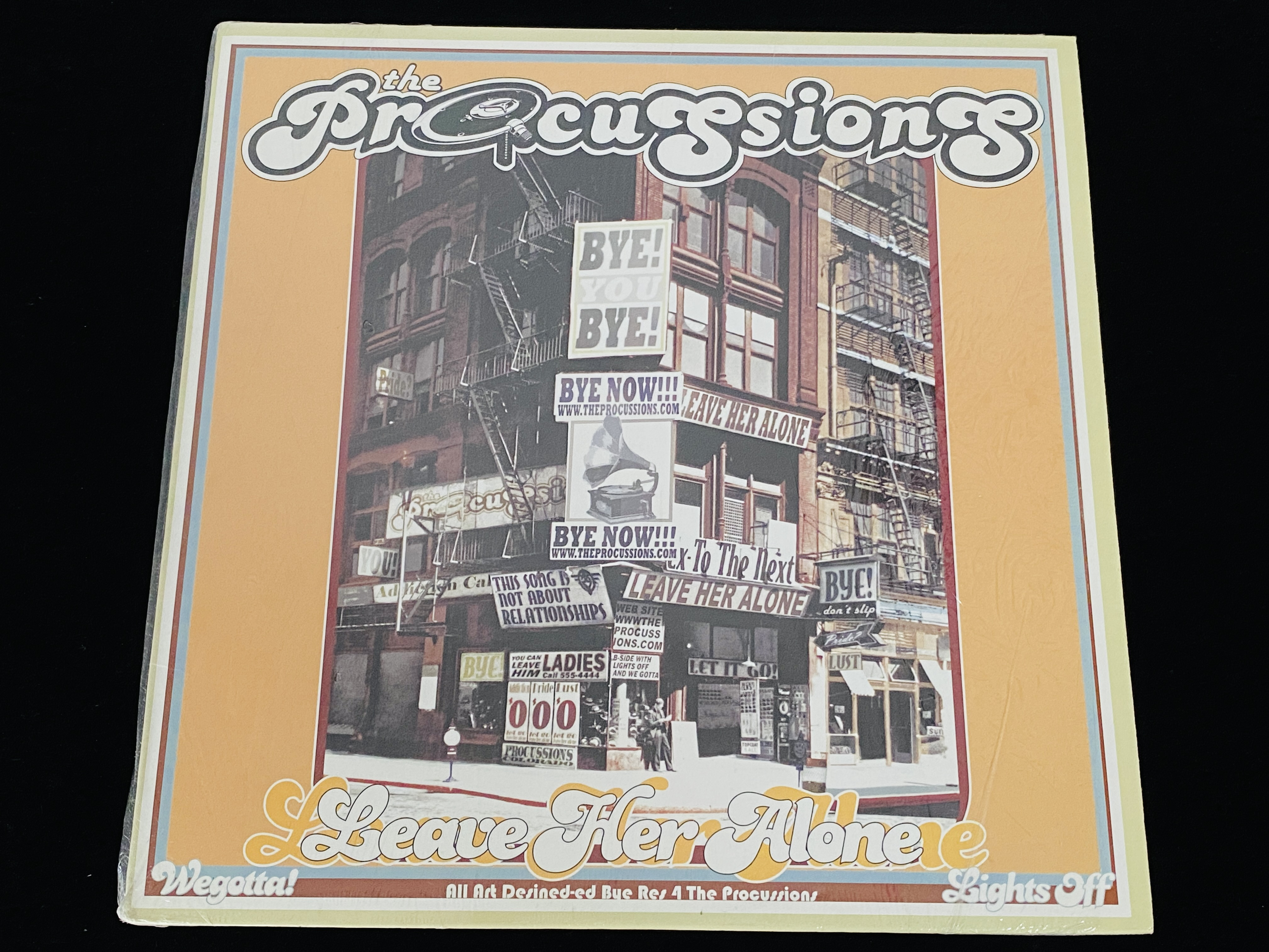 The Procussions - Leave Her Alone (US, 2002)