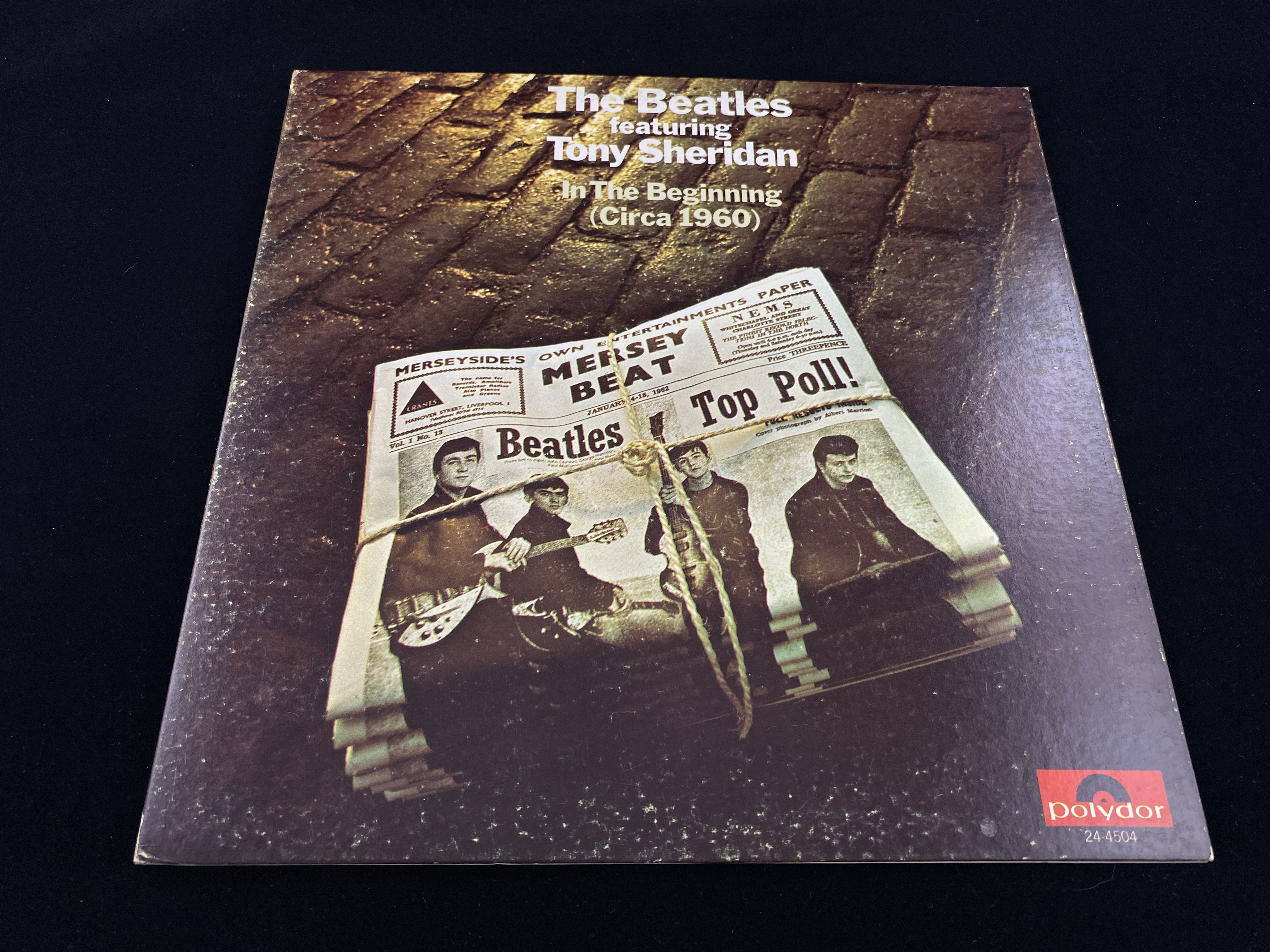 The Beatles feat. Tony Sheridan - In The Beginning (Circa 1960) (RE, US, 1970)
