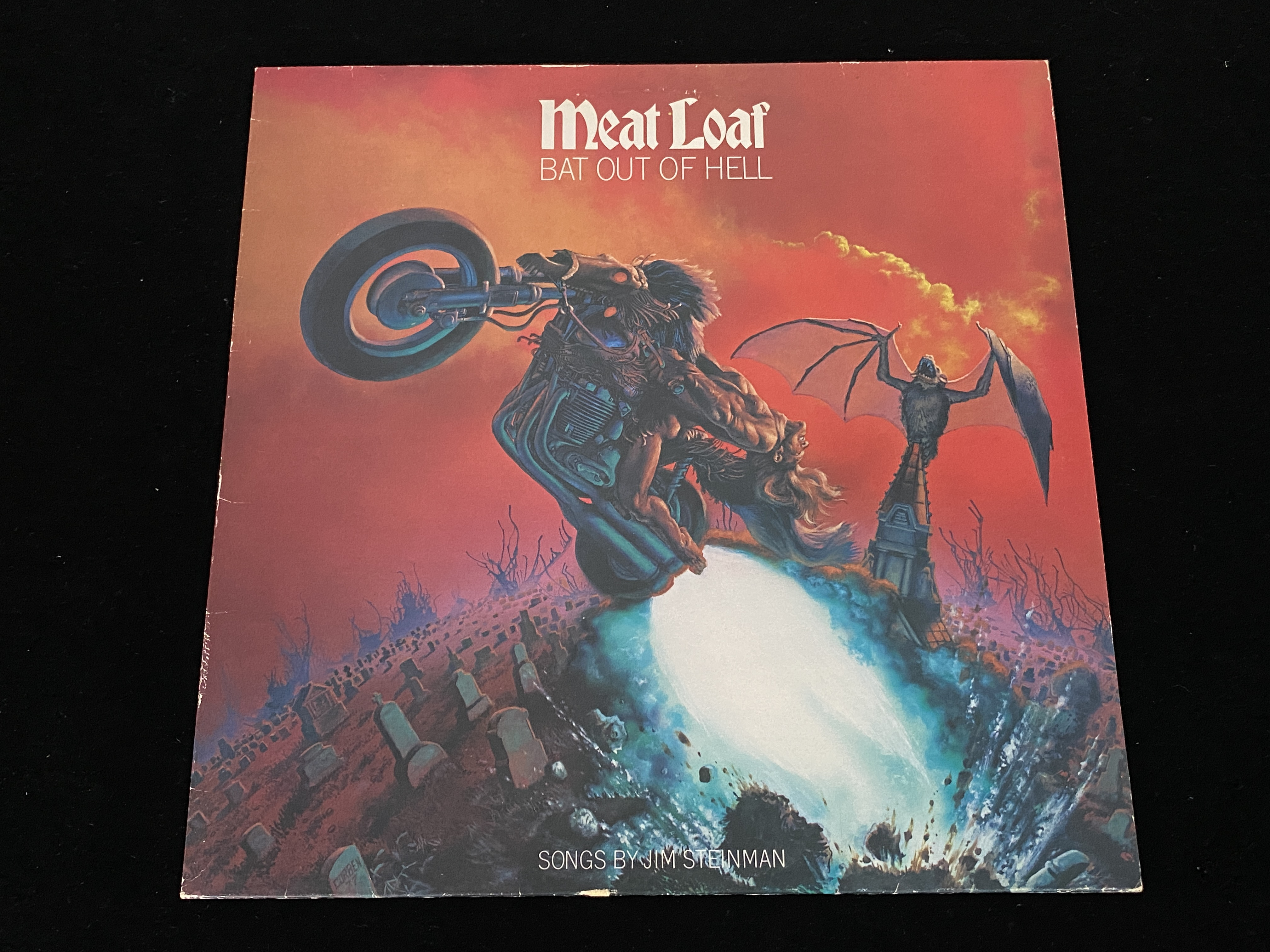 Meat Loaf - Bat Out of Hell (EU, 1977)