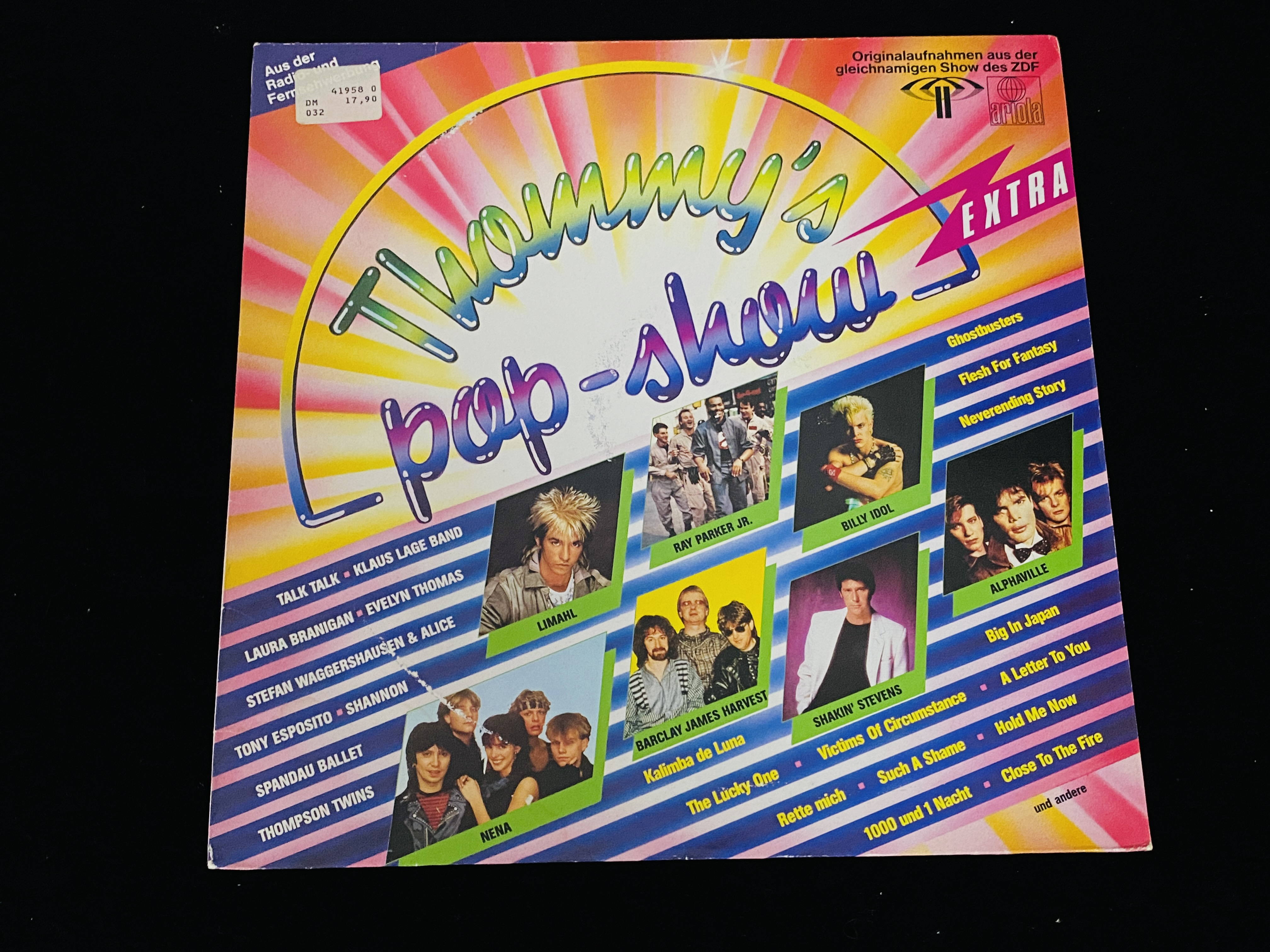 Various - Thommy's Pop-Show Extra (Club Edition, DE, 1984)