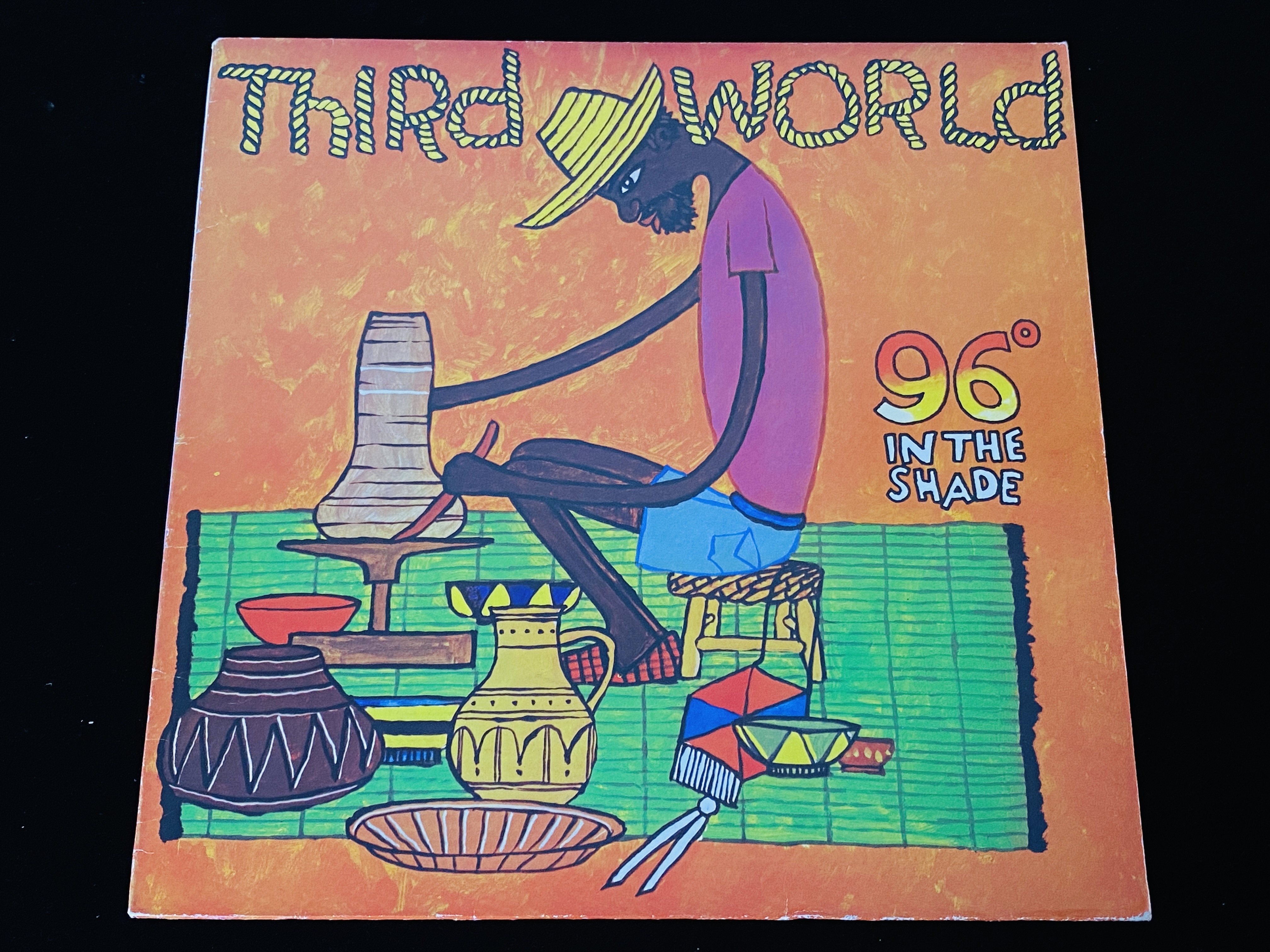 Third World - 96 in the Shade (RE, DE, 1979)