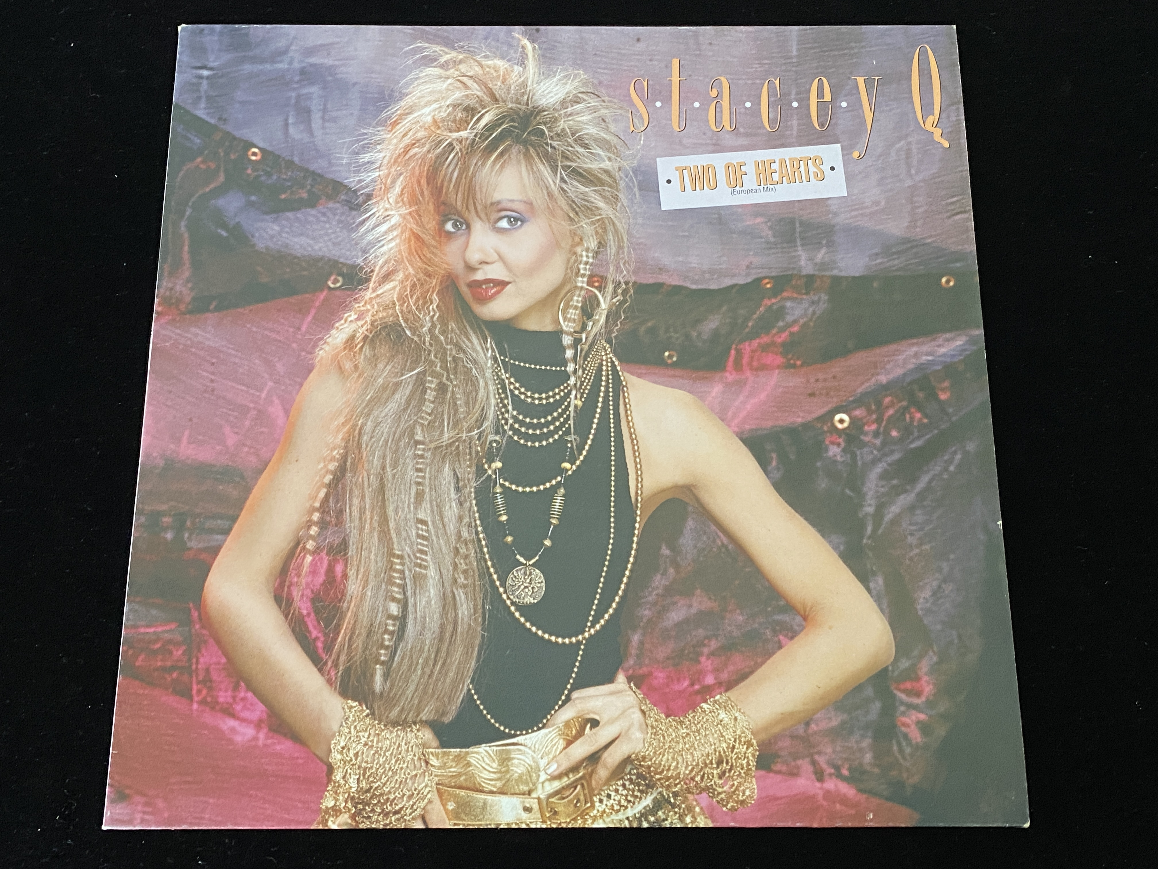 Stacey Q - Two of Hearts (Maxi-Single, EU, 1986)