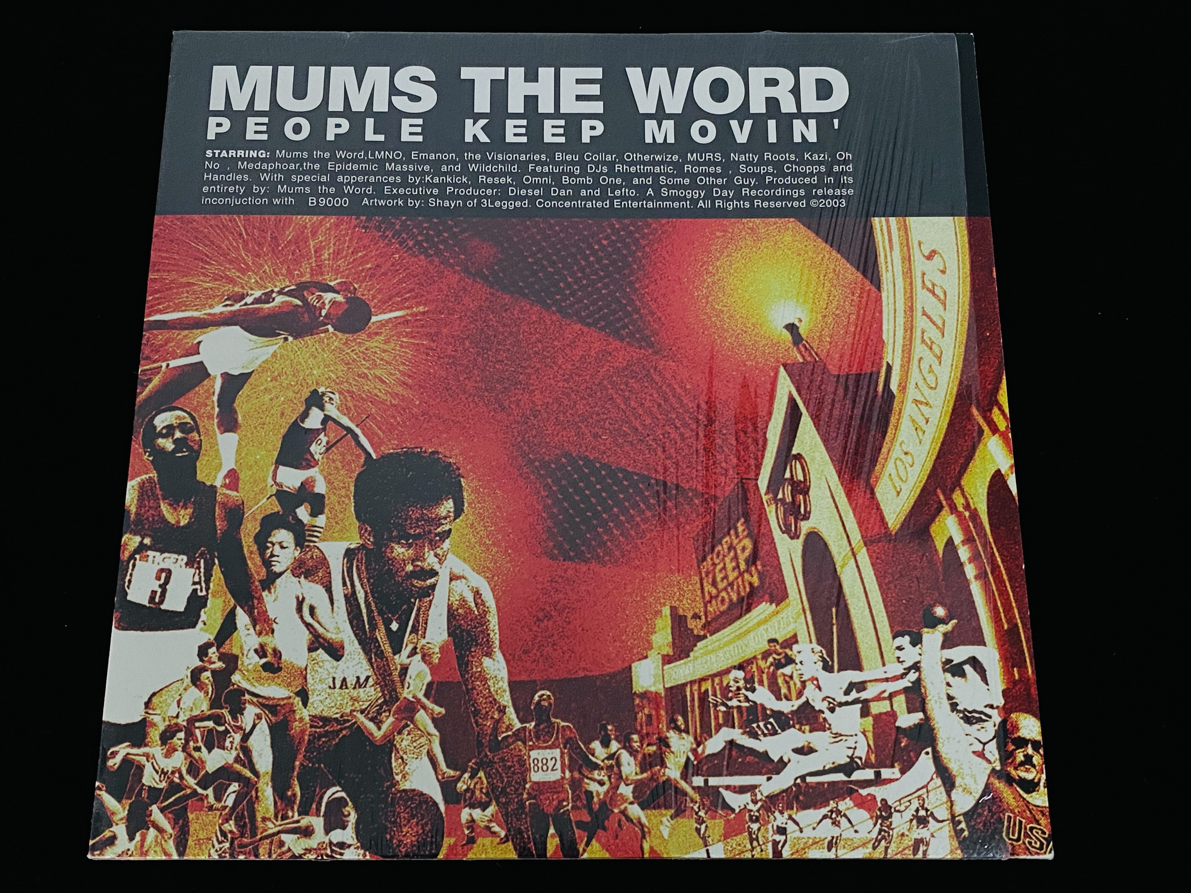 Mums The World - People Keep Movin' (DE, 2003)