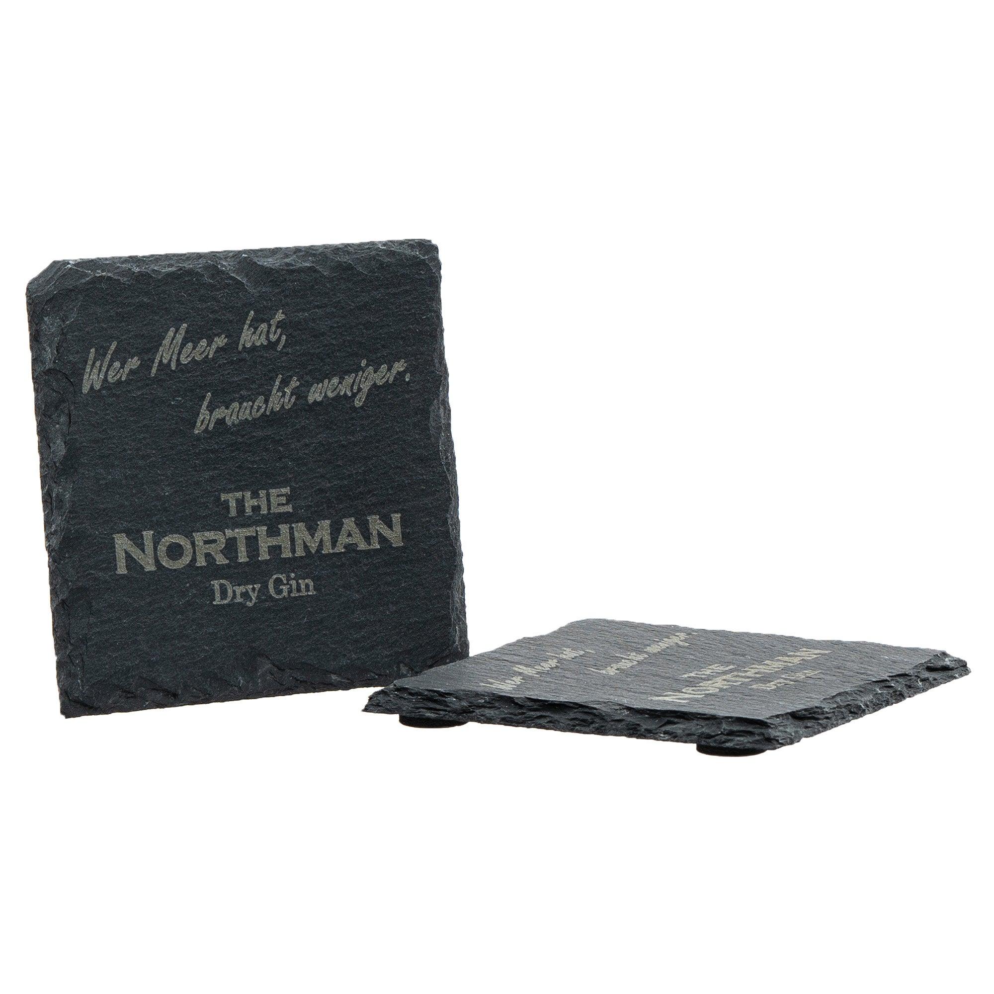 The Northman Schieferuntersetzer (2er Set)