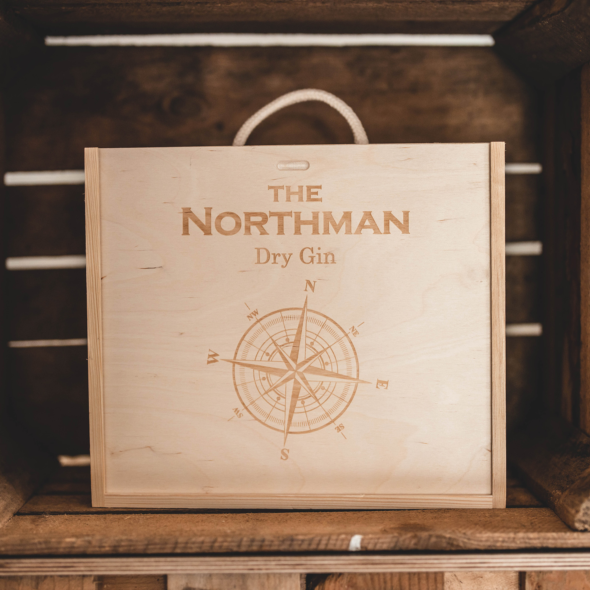 """Set: The Northman """"Calm Sea"""" und 2 Original Gläser"""