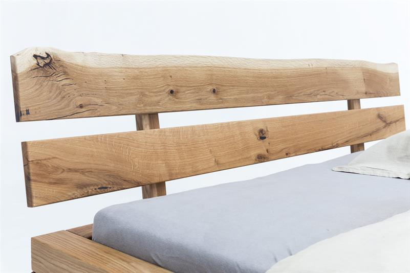 WOODLIVE | Timber | Massivholzbett | Buche Eiche | Natur