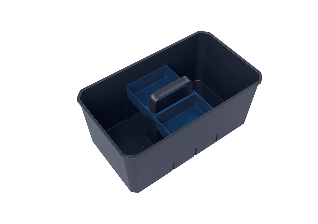Cox Work® Blues | Utensilienbox | Set-1 | inkl. Kleinteilebox