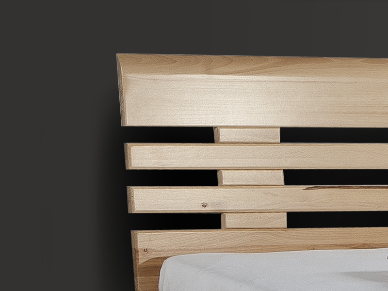 BED BOX | 601 | Premium |  Massivholzbett