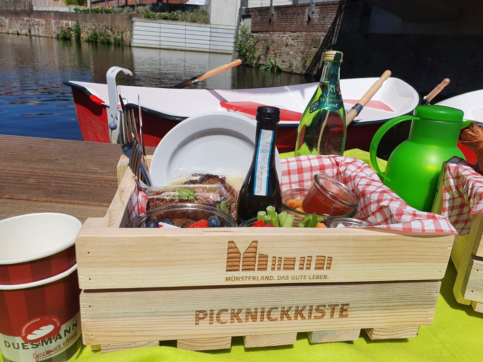 "Picknickkorb ""Gronauer Picknickkorb"""