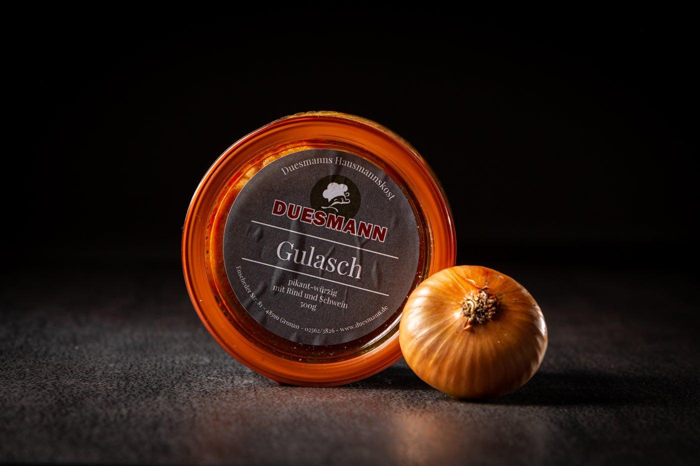 Gulasch im Weckglas