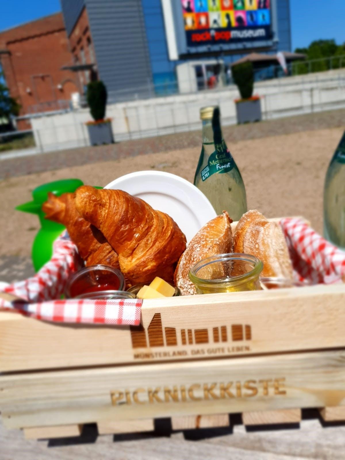 "Picknickkorb ""Guten Morgen, Gronau"""
