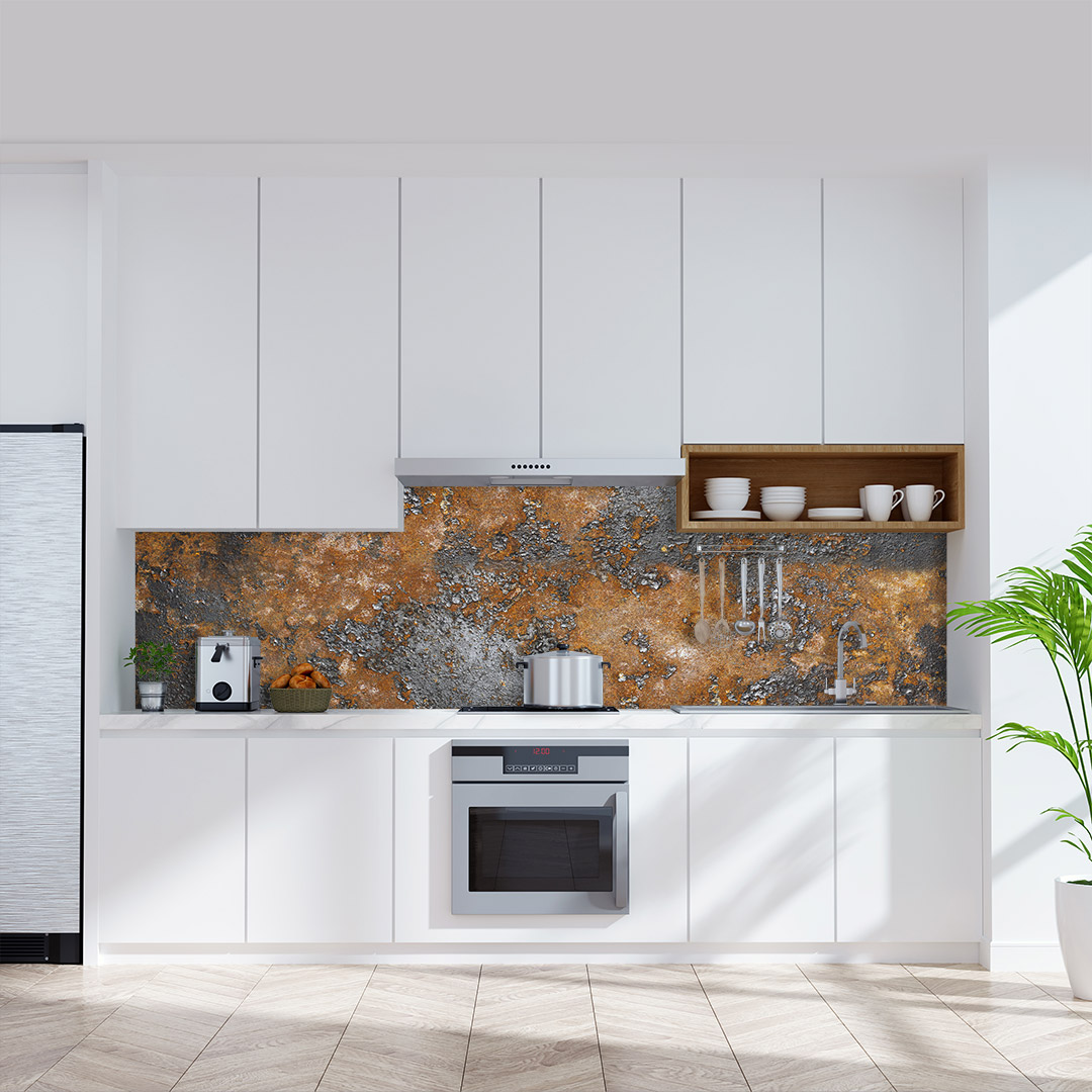 Küchenrückwand Industrial Rust