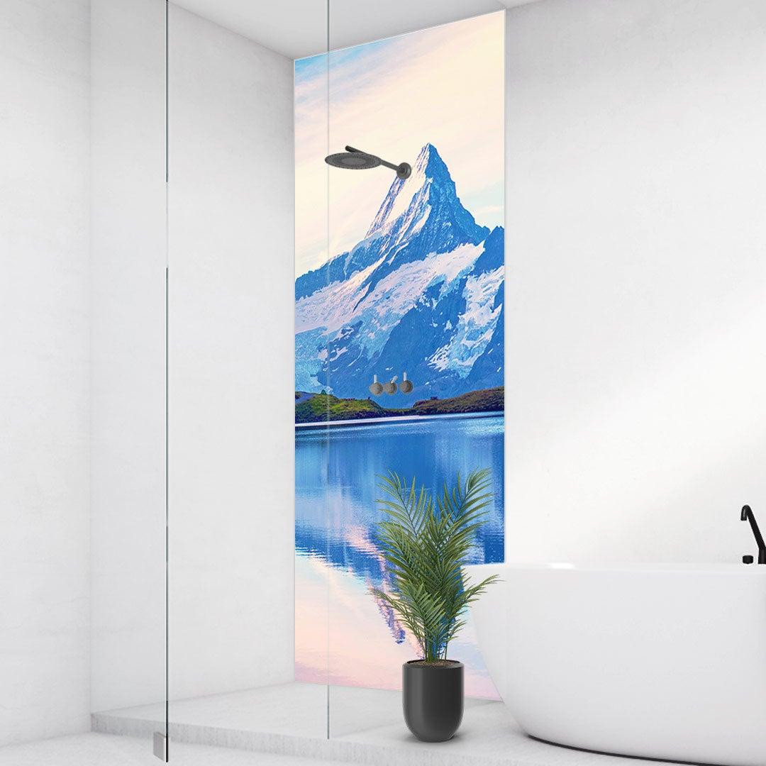 Duschrückwand Alpen