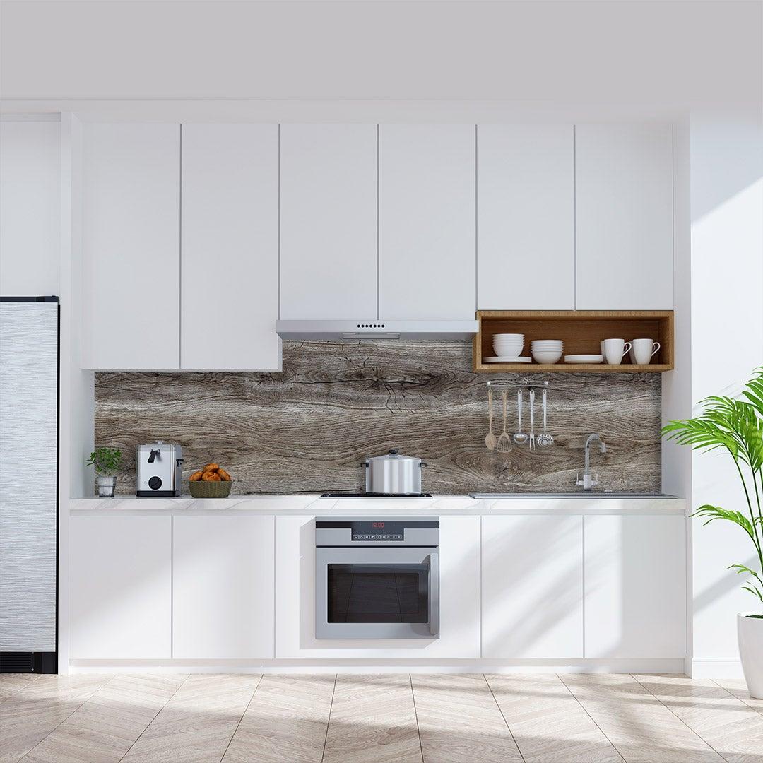 Küchenrückwand Altholz Natur