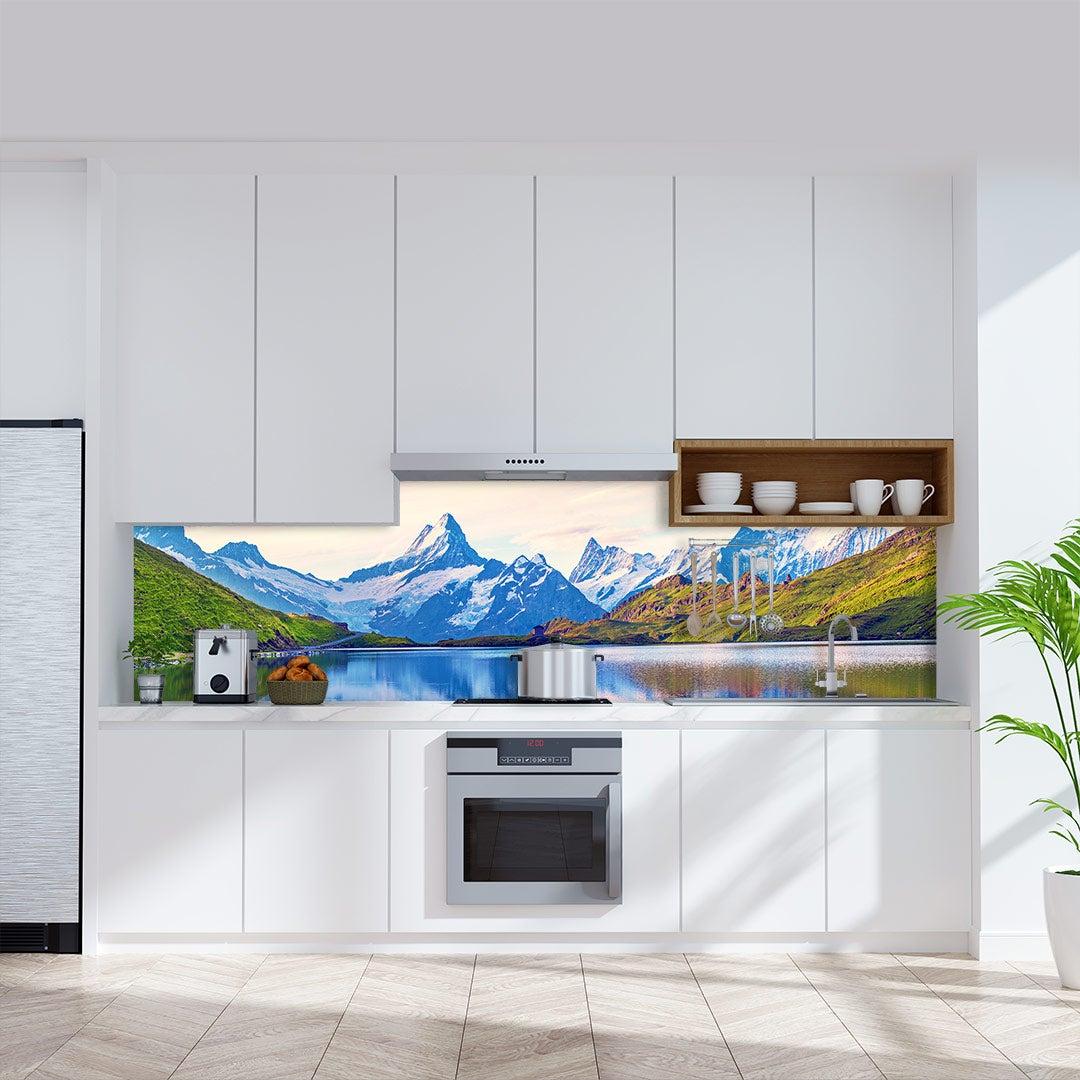 Küchenrückwand Alpen