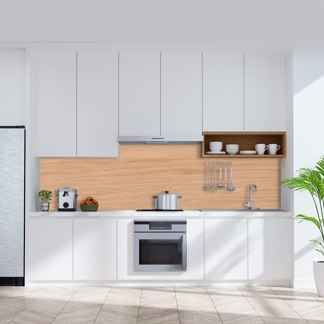 Küchenrückwand Hickory-Holz