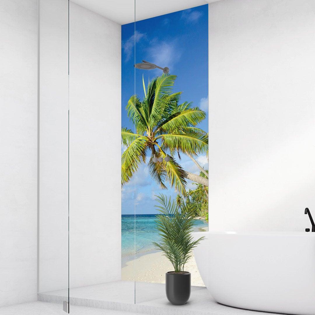 Duschrückwand Bahamas