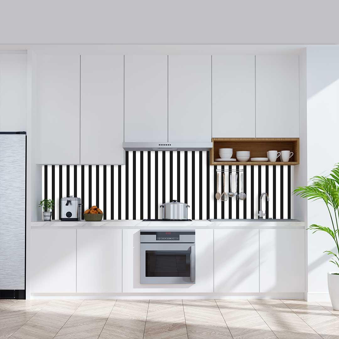 Küchenrückwand Streifen