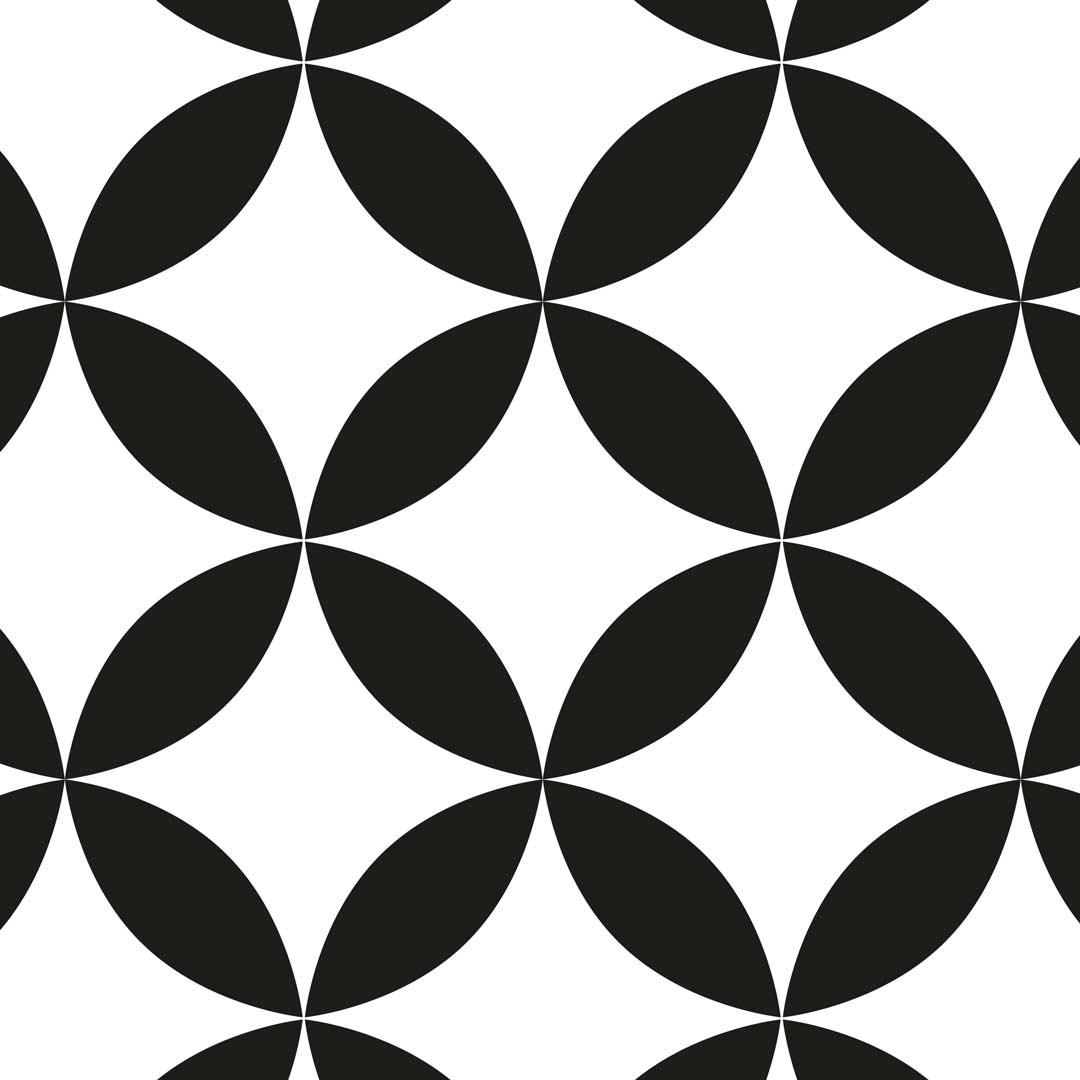 Küchenrückwand Batik Kawung, fugenlose Wandpaneele aus Alu-Verbund 3mm