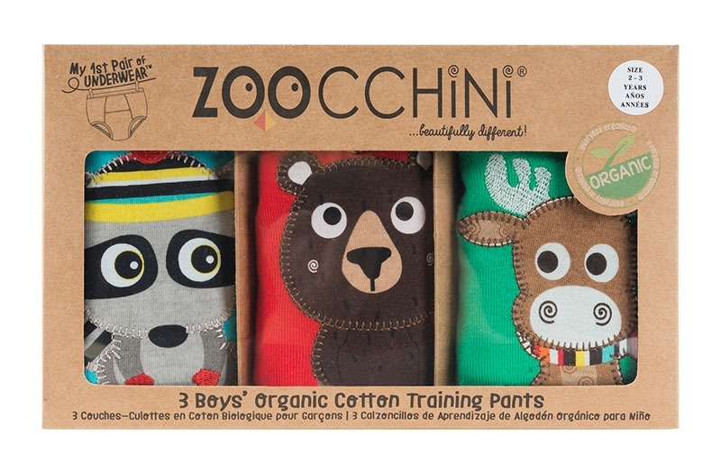 Zoocchini Trainings Pants 2-3 Jahre Forest Chums