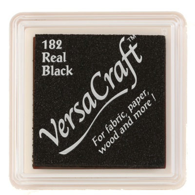 96882 - VersaCraft Mini - Real Black - Stoff-Stempelkissen -