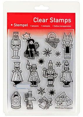 46834 - Clear Stamp Set - Räuchermännchen / Nussknacker  -