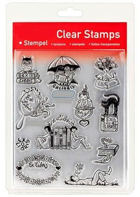 46846 - Clear Stamp Set - Ex Libris -