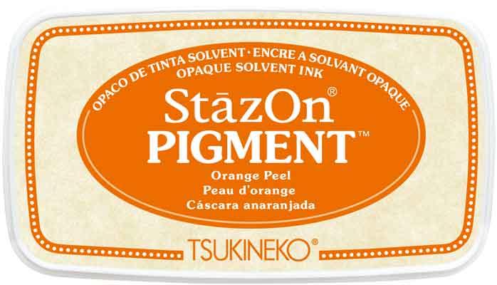 98171 - StazOn Pigment - Orange Peel - Stempelkissen -