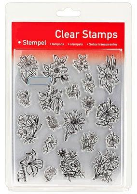 46852 - Clear Stamp Set - Blumen klein -
